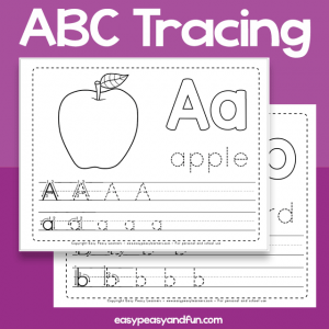 Alphabet Tracing Worksheet - Printable Alphabet Workbook