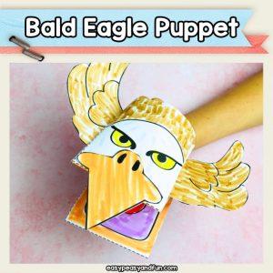 Bald Eagle Hand Puppet