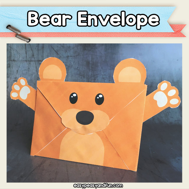 Bear Envelope