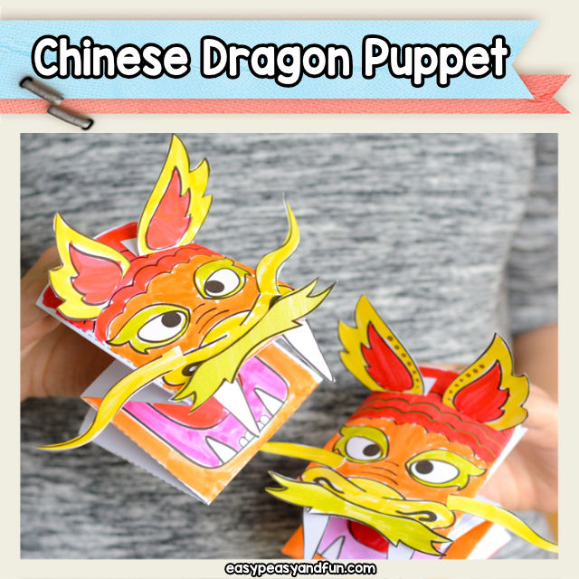 Chinese Dragon Hand Puppet