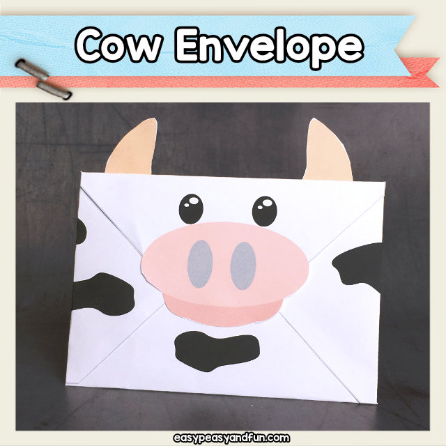 Cow Envelope