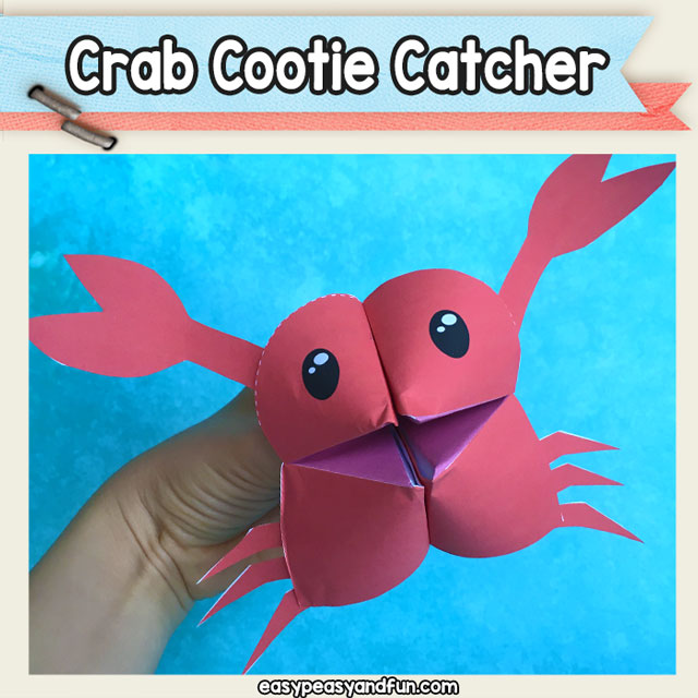 Crab Cootie Catcher
