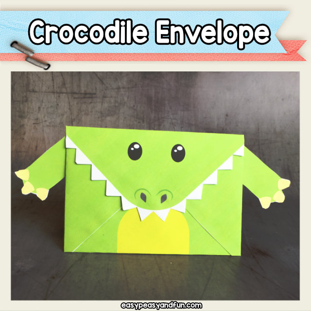 Crocodile Envelope