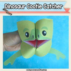 Dinosaur Cootie Catcher
