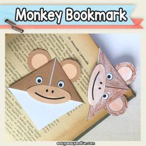 Monkey Bookmark