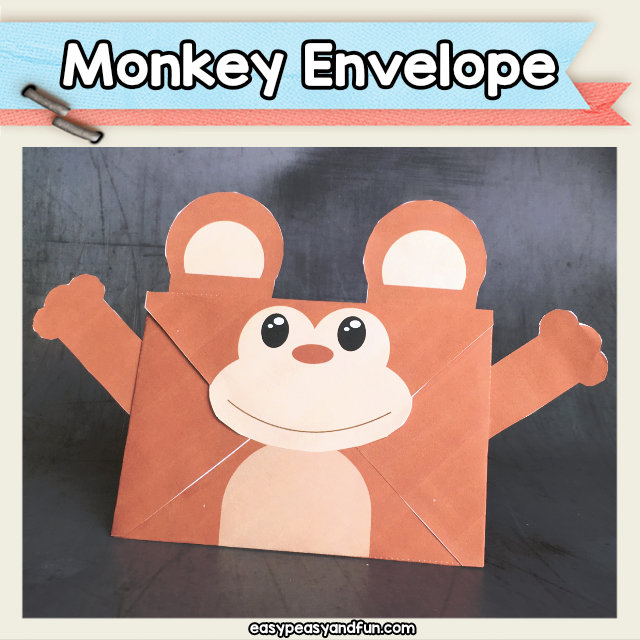 Monkey Envelope