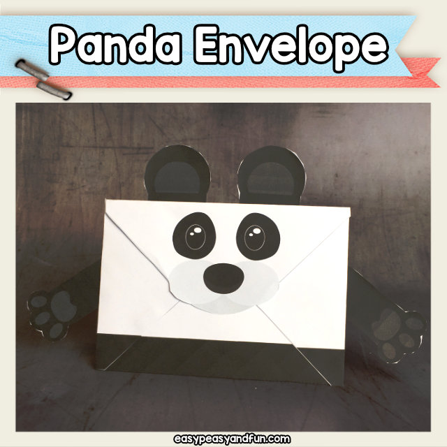 Panda Bear Envelope