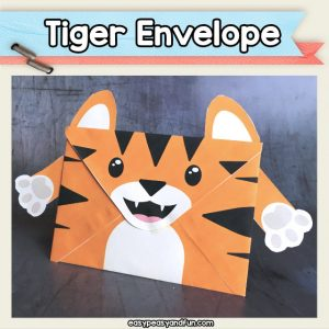 Tiger Envelope