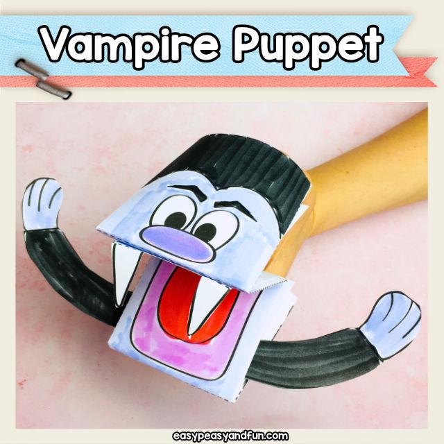 Vampire Hand Puppet
