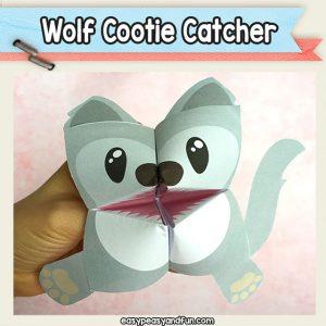 Wolf Cootie Catcher