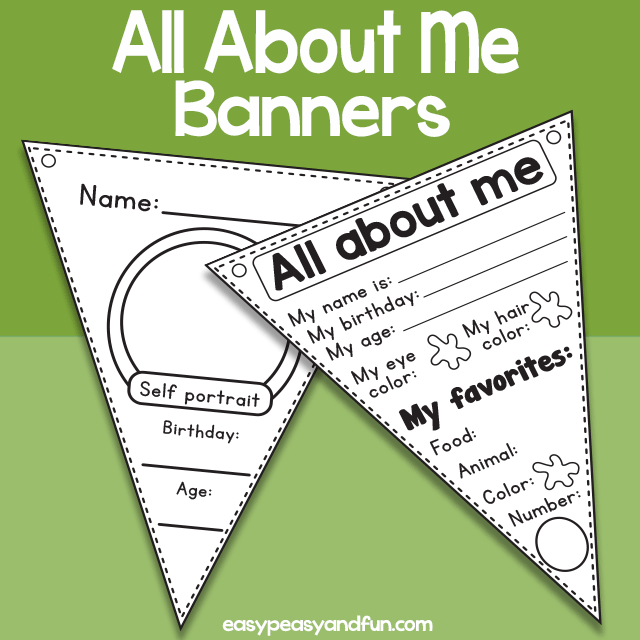 All About Me Book Template – Easy Peasy and Fun Membership