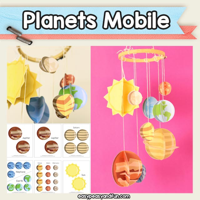 3D Solar System Mobile Craft – Easy Peasy and Fun Membership