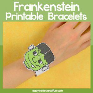 Frankenstein Paper Bracelet
