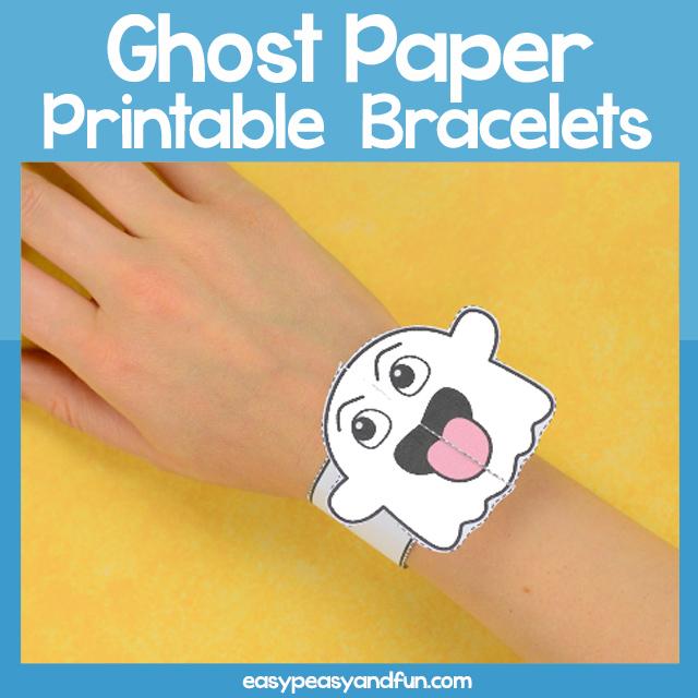 Ghost Paper Bracelet
