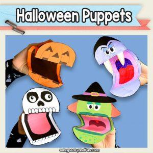Halloween Puppets