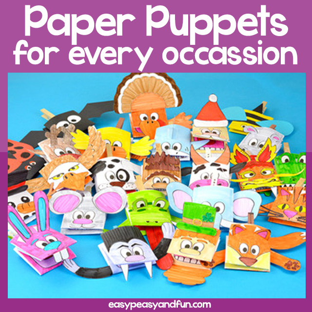 Printable Paper Puppets