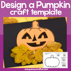 Pumpkin Craft Template