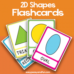 2D Shapes - Flashcards