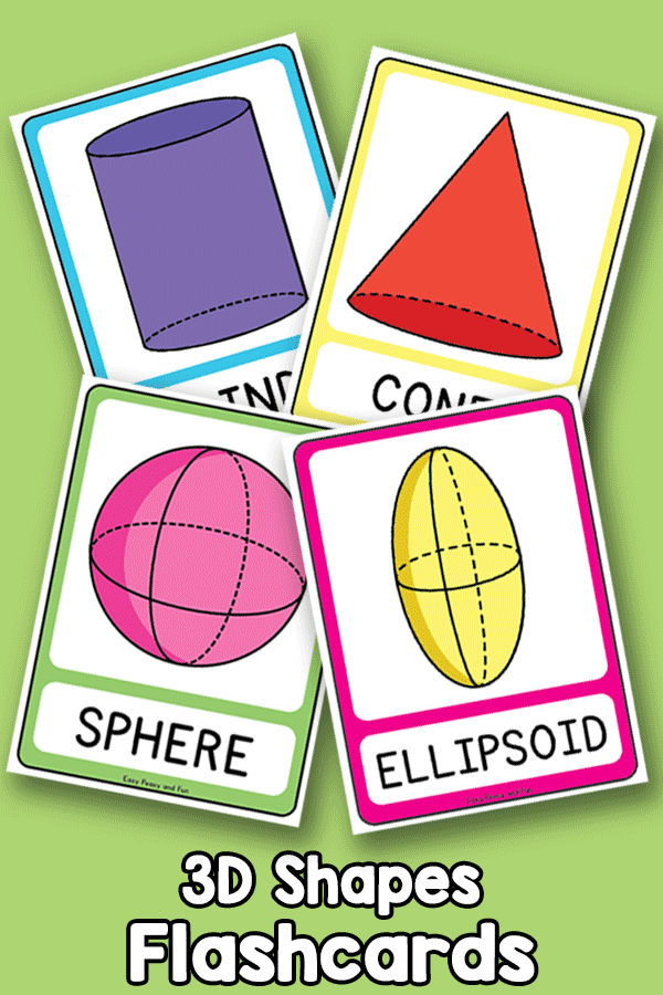 3D Shapes - Flashcards