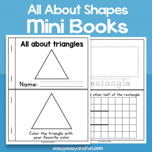 All About Shapes mini Books