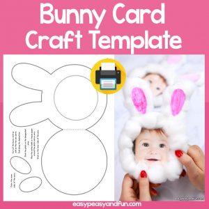 Bunny Card Template