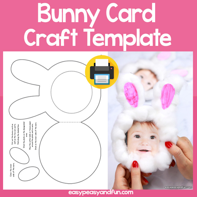 Bunny Card Template