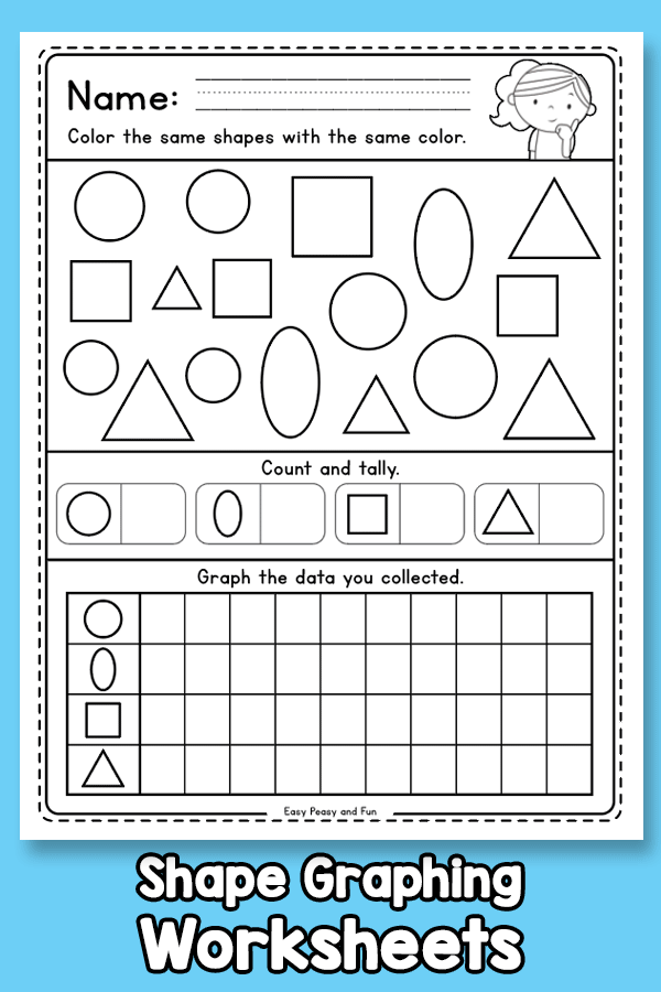 Shape Graphing Worksheets
