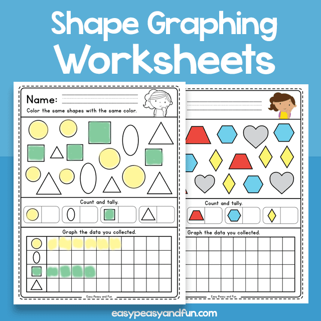 Shape Graphing - Worksheets