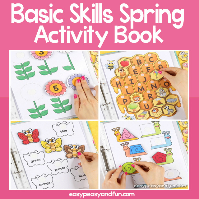 Basic Skills Spirng Activity Book