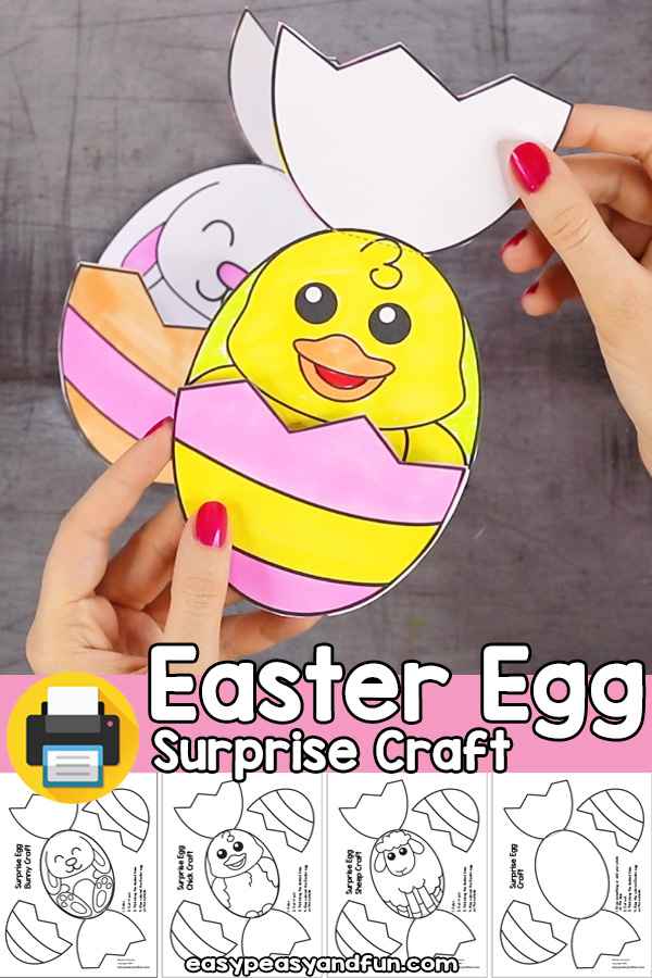 Easter Egg Surprise Craft