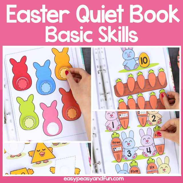 Easter Quiet Book Basic Skills