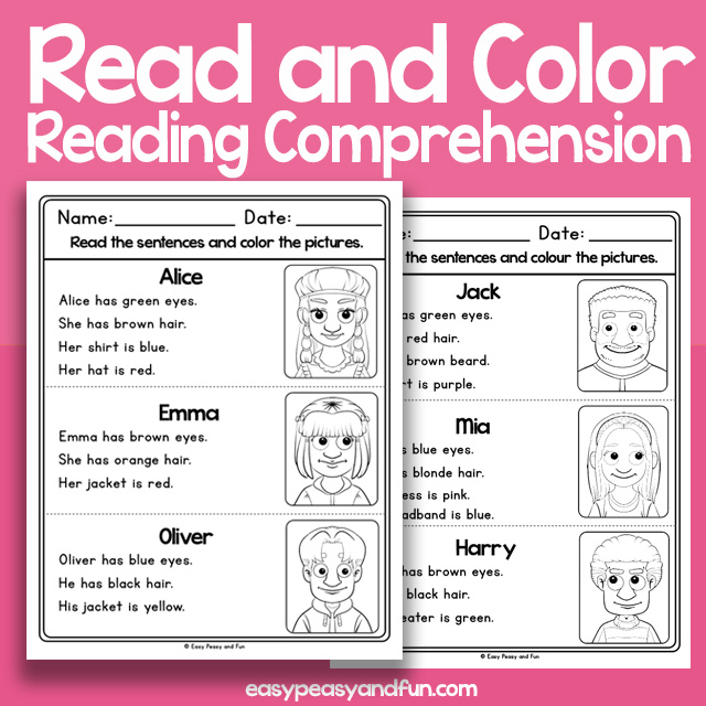 Reading Comprehension – Easy Peasy And Fun Membership