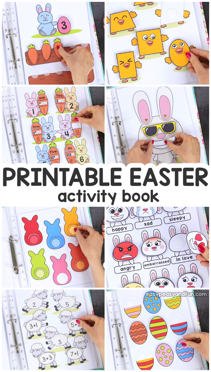 Printable Easter Quiet Book