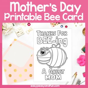 Thanks for Beeing a Great Mom Card