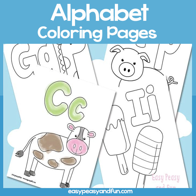 720 Top Abc Coloring Pages Easy Images & Pictures In HD