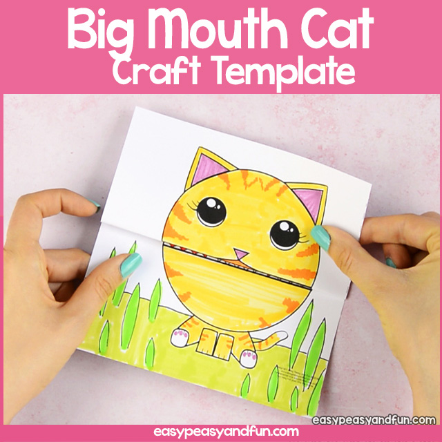 Big Mouth Cat Printable