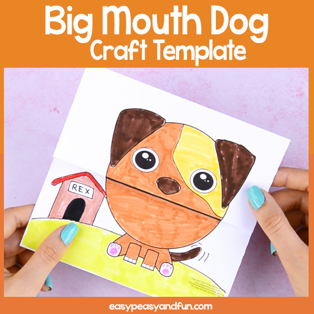 Big Mouth Dog Printable