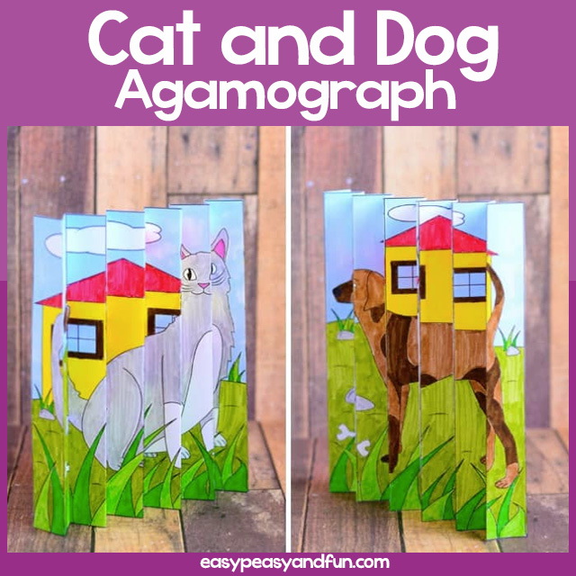 Cat and Dog Agamograph