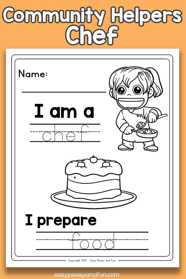 Chef Community Workers Worksheets