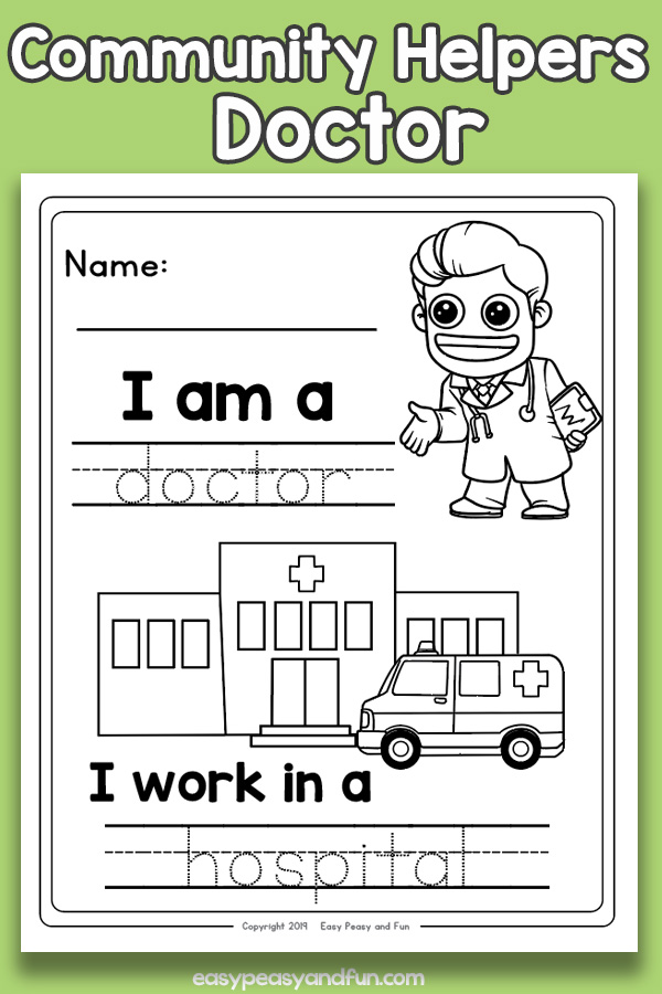 Community Helpers & People's Jobs | Free Printable Templates ... | 900x600