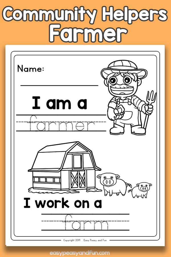 Community Workers Farmer Worksheets – Easy Peasy And Fun Membership