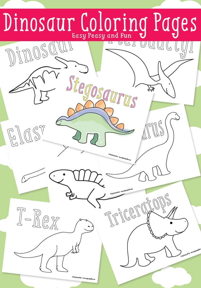 It is a picture of Free Printable Dinosaur Coloring Pages with stegosaurus