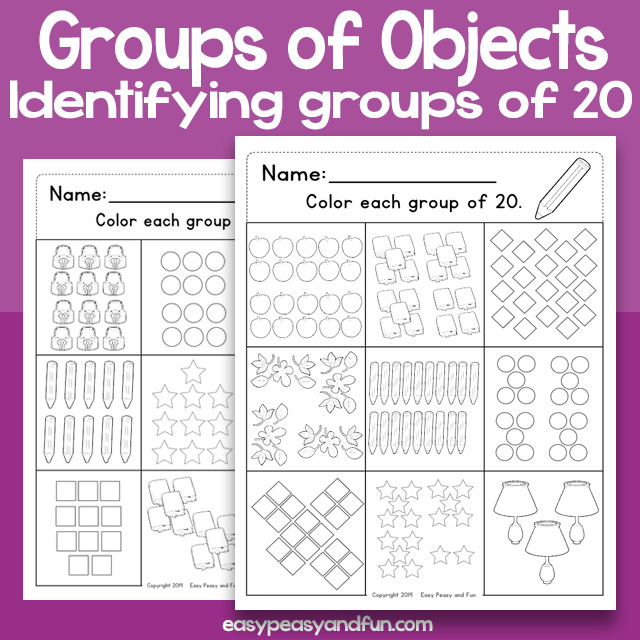 Groups of objects 20