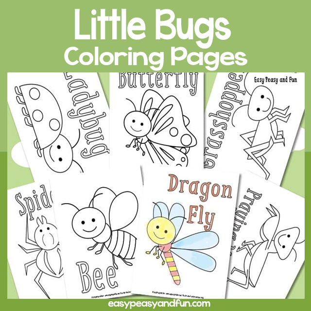 Little Bugs Coloring Pages