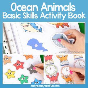 Ocean Animals Quiet Book