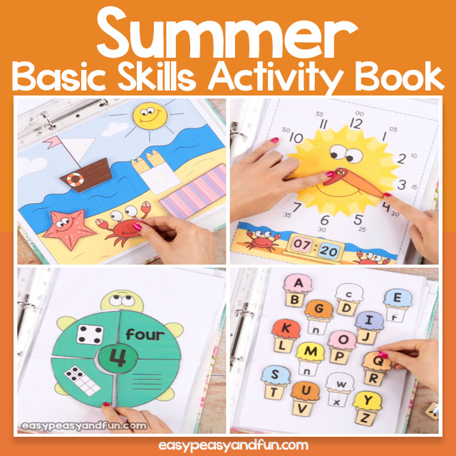 Summer Basic Skills Activity Book