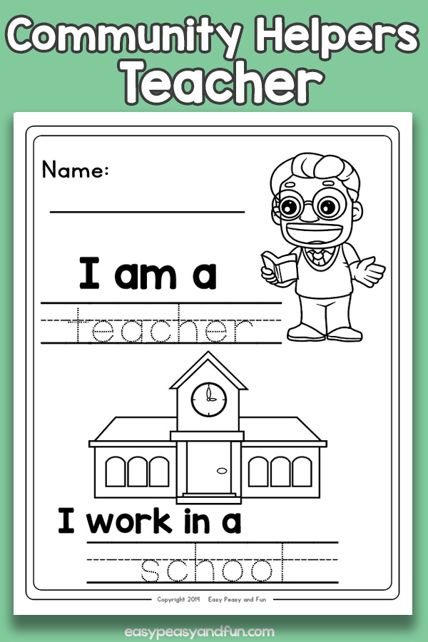 Teacher Community Workers Worksheets