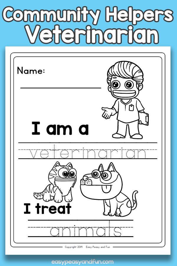 Veterinarian Community Workers Worksheets