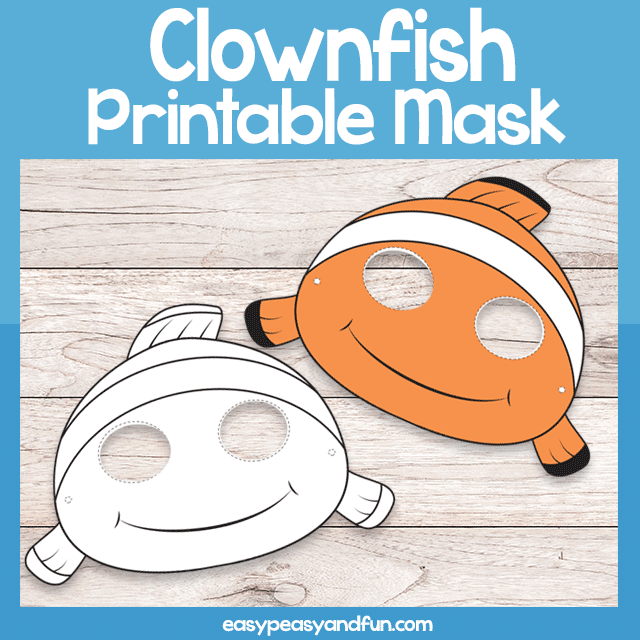 Clownfish Mask