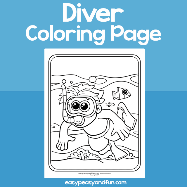 The Wiggles Coloring Pages Wearing Flippers - Get Coloring Pages | 640x640